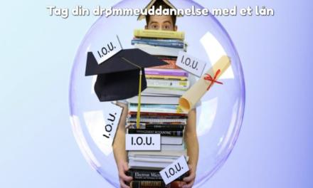 Tag din drømmeuddannelse med et lån