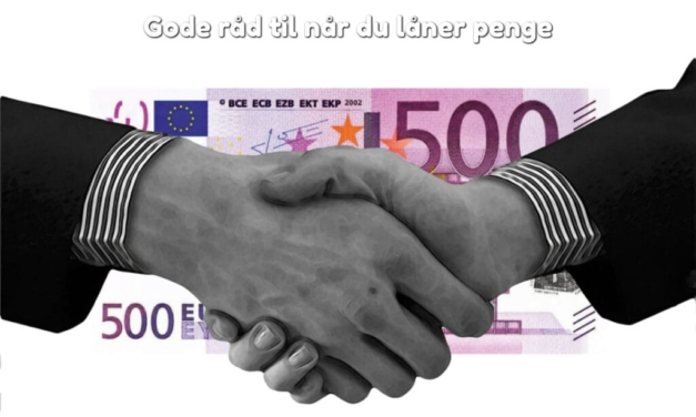 Gode råd til når du låner penge